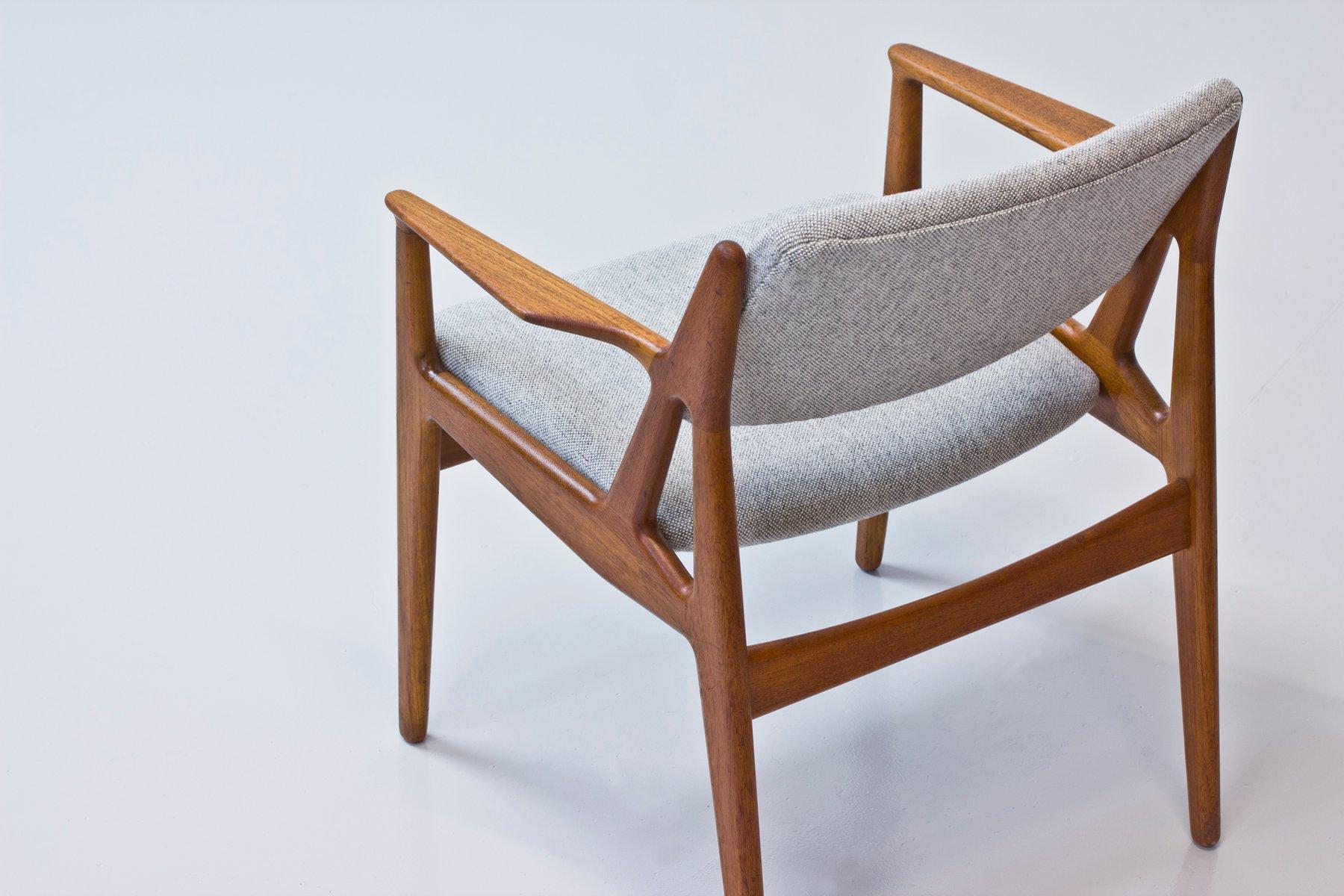 danish teak armchair by arne vodder for vamo 1960s for sale at pamono