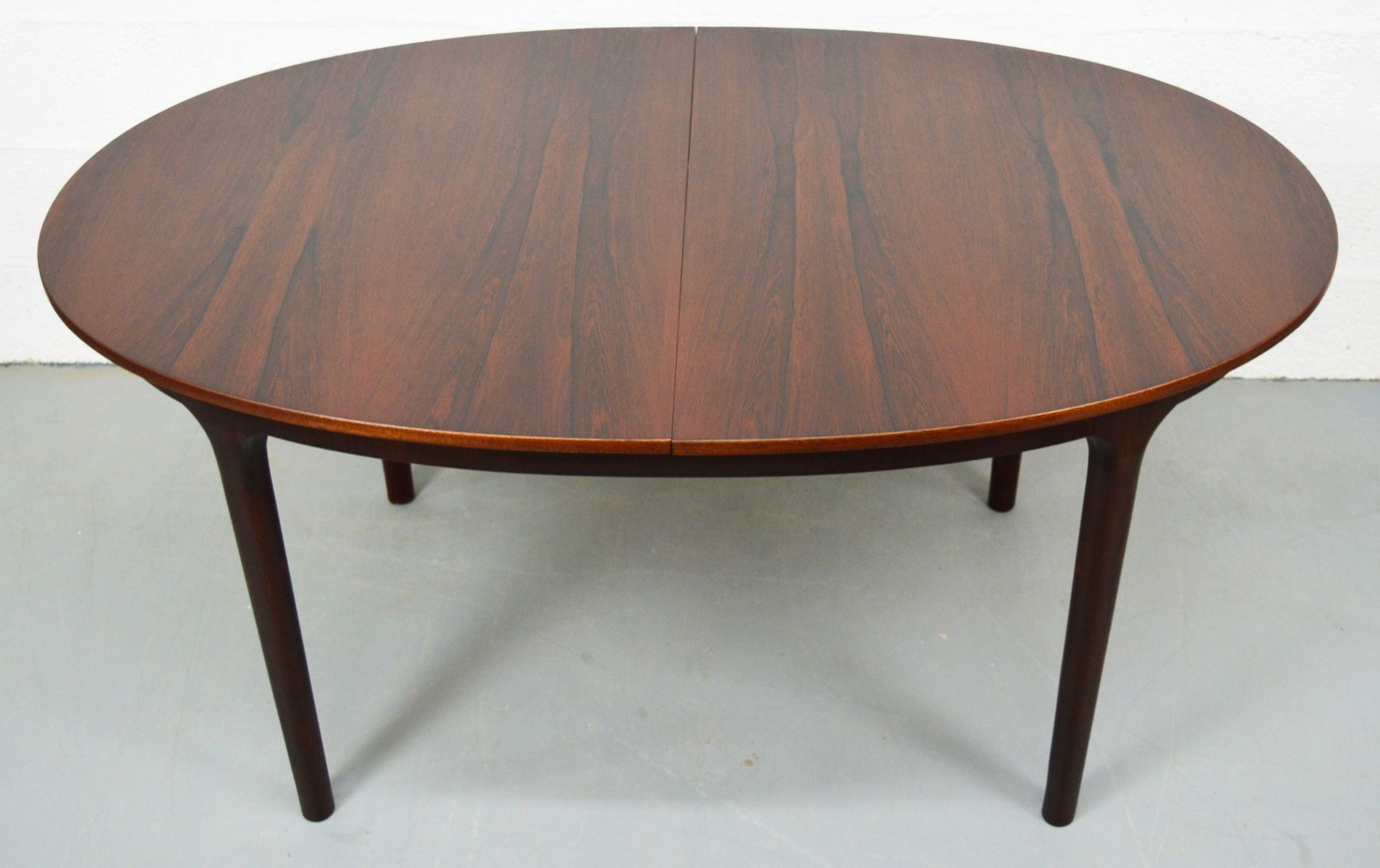 Rosewood Dining Table Mid Century Extendable Oval Rosewood Dining Table From Mcintosh