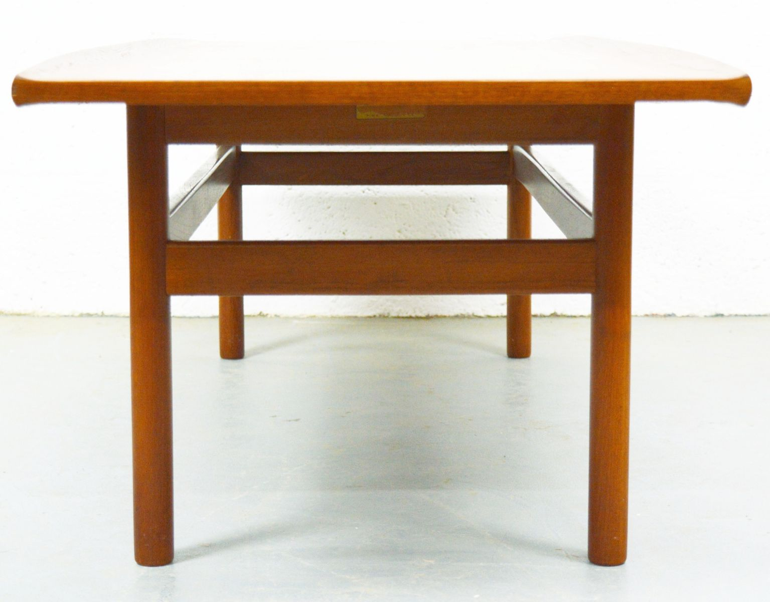Large Mid Century Danish Teak Coffee Table 1960s For Sale At Pamono