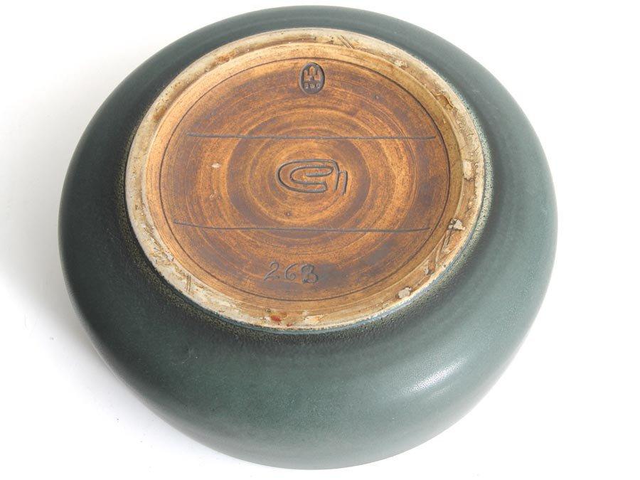 keramik bonbon schale mit deckel von bing and grondahl bei. Black Bedroom Furniture Sets. Home Design Ideas