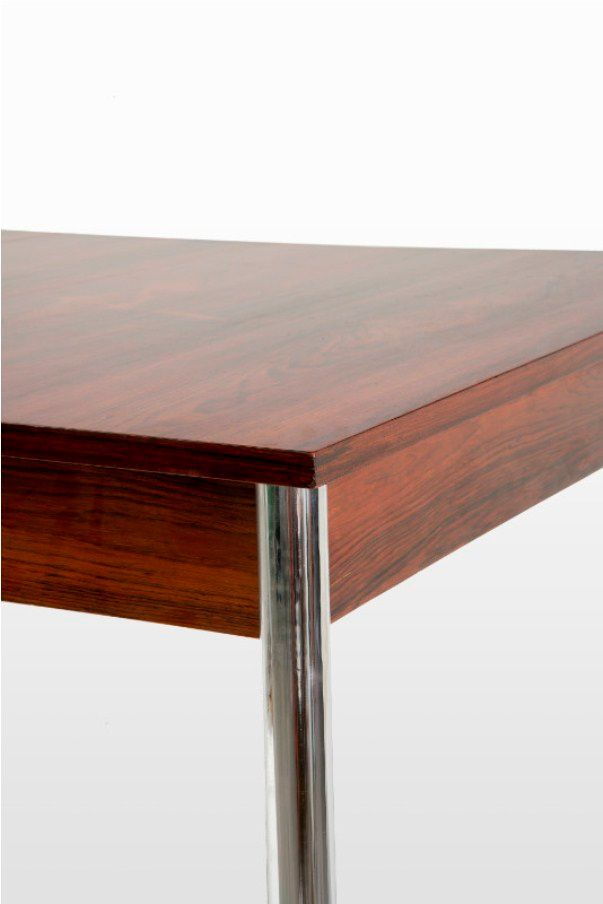 Vintage Rosewood and Chrome Dining Room Table for sale at  : vintage rosewood and chrome dining room table 2 from www.pamono.com size 603 x 904 jpeg 24kB