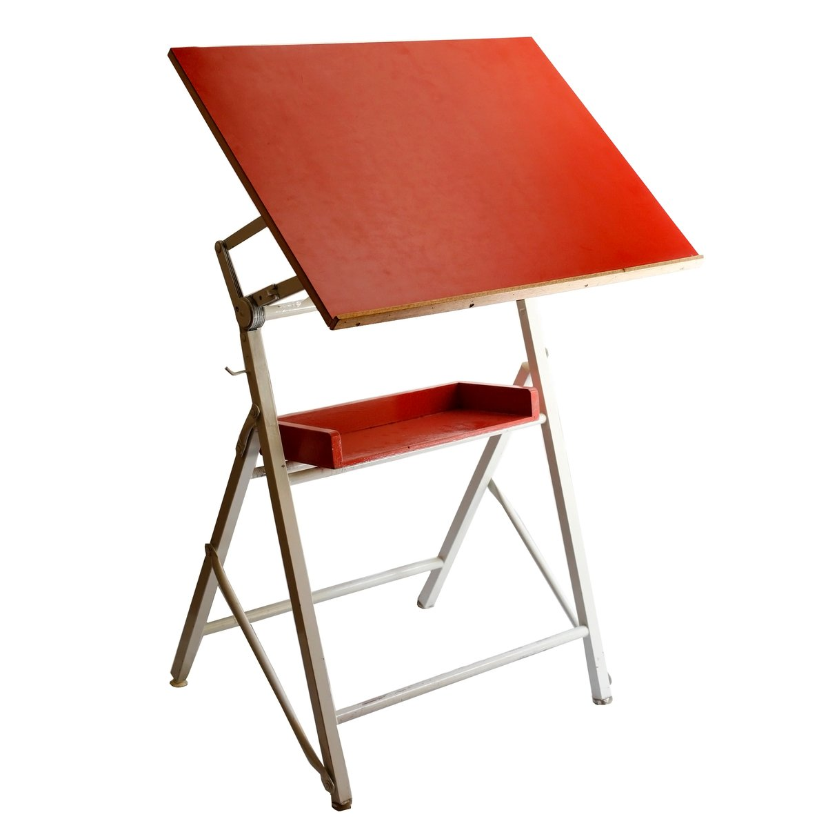french drawing table and chair 1970s for sale at pamono