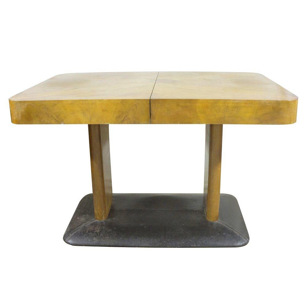 Table de salle manger h 356 par jind ich halabala 1930s for 3 suisses table de salle a manger