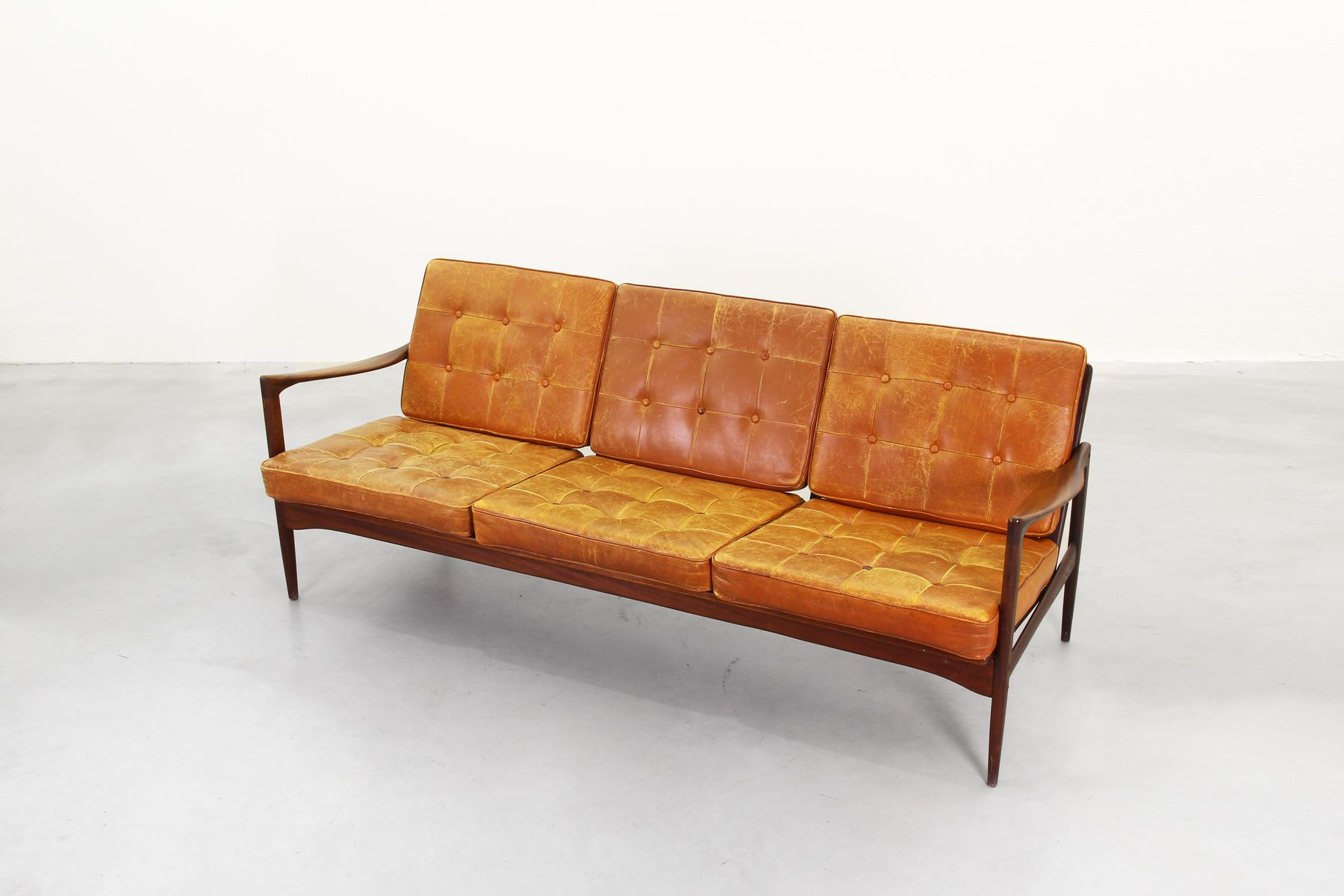 Kandidaten Sofa By Ib Kofod Larsen For Ope 1950s For Sale