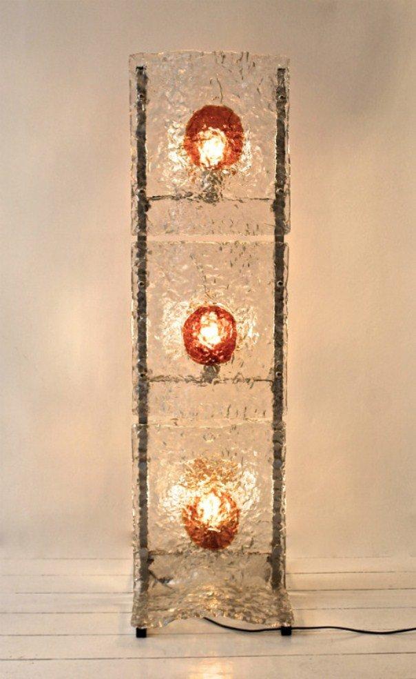 murano glas stehlampe von mazzega bei pamono kaufen. Black Bedroom Furniture Sets. Home Design Ideas