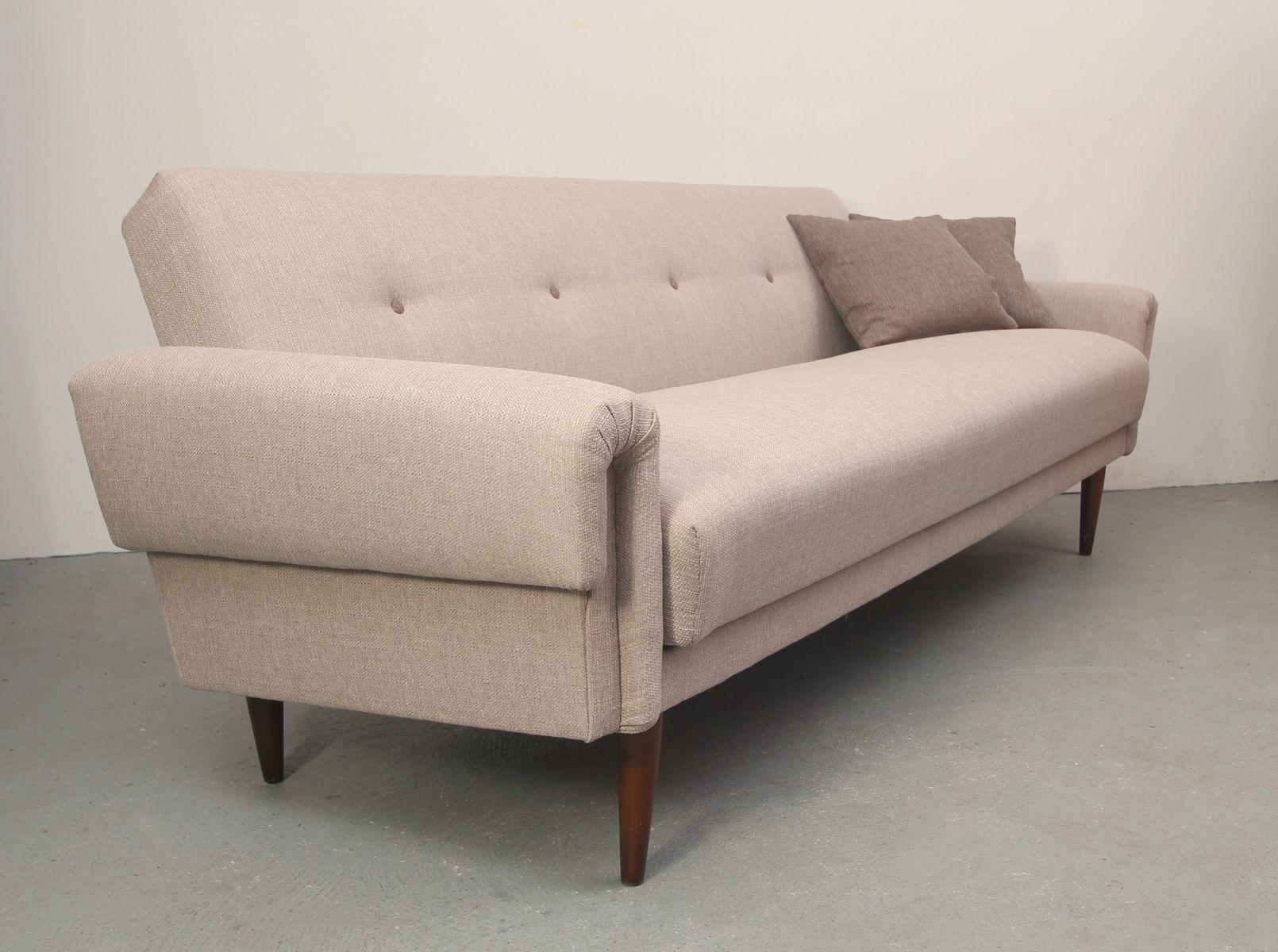 german light beige daybed 1950s for sale at pamono. Black Bedroom Furniture Sets. Home Design Ideas