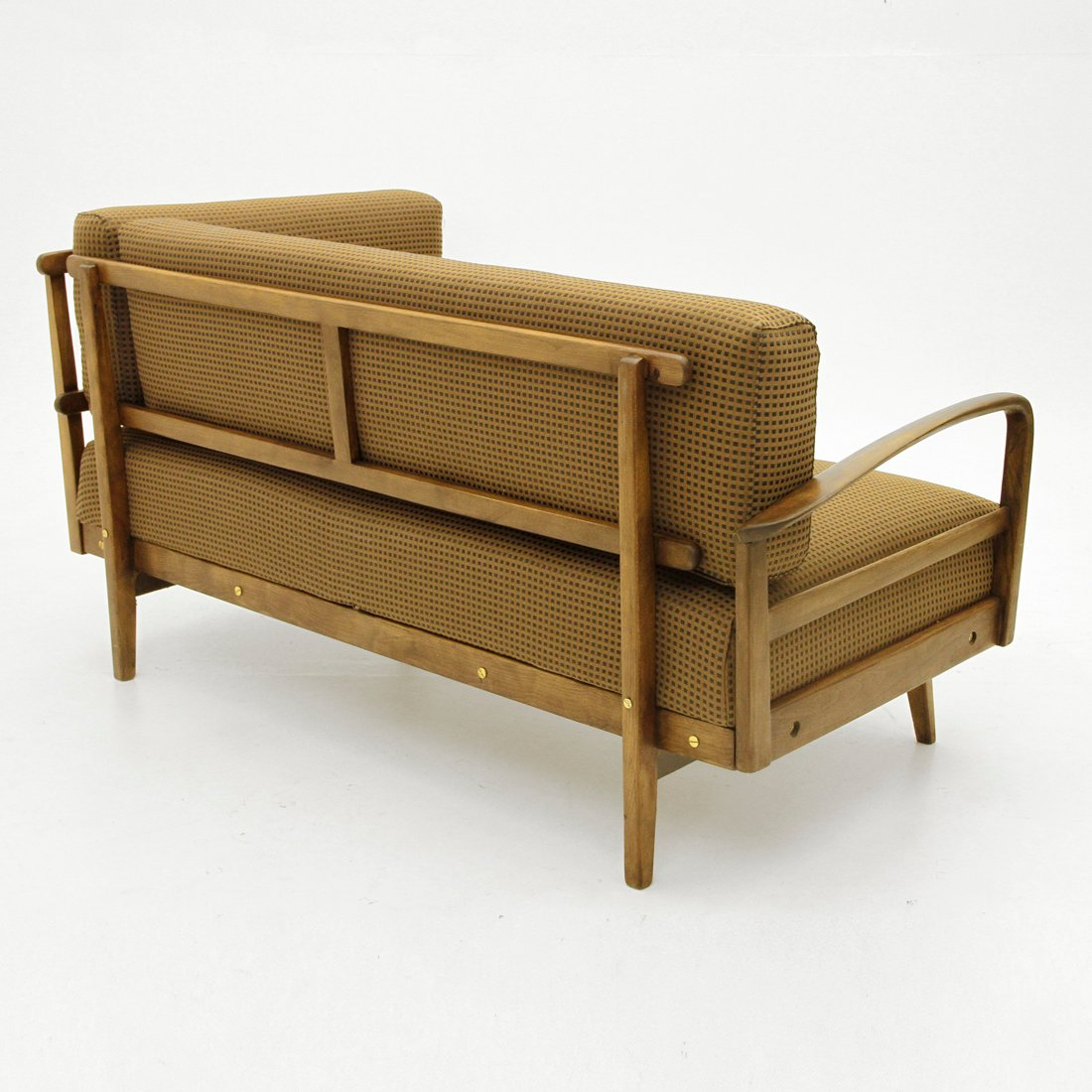 Italian Wooden Frame Sofa 1950s For Sale At Pamono