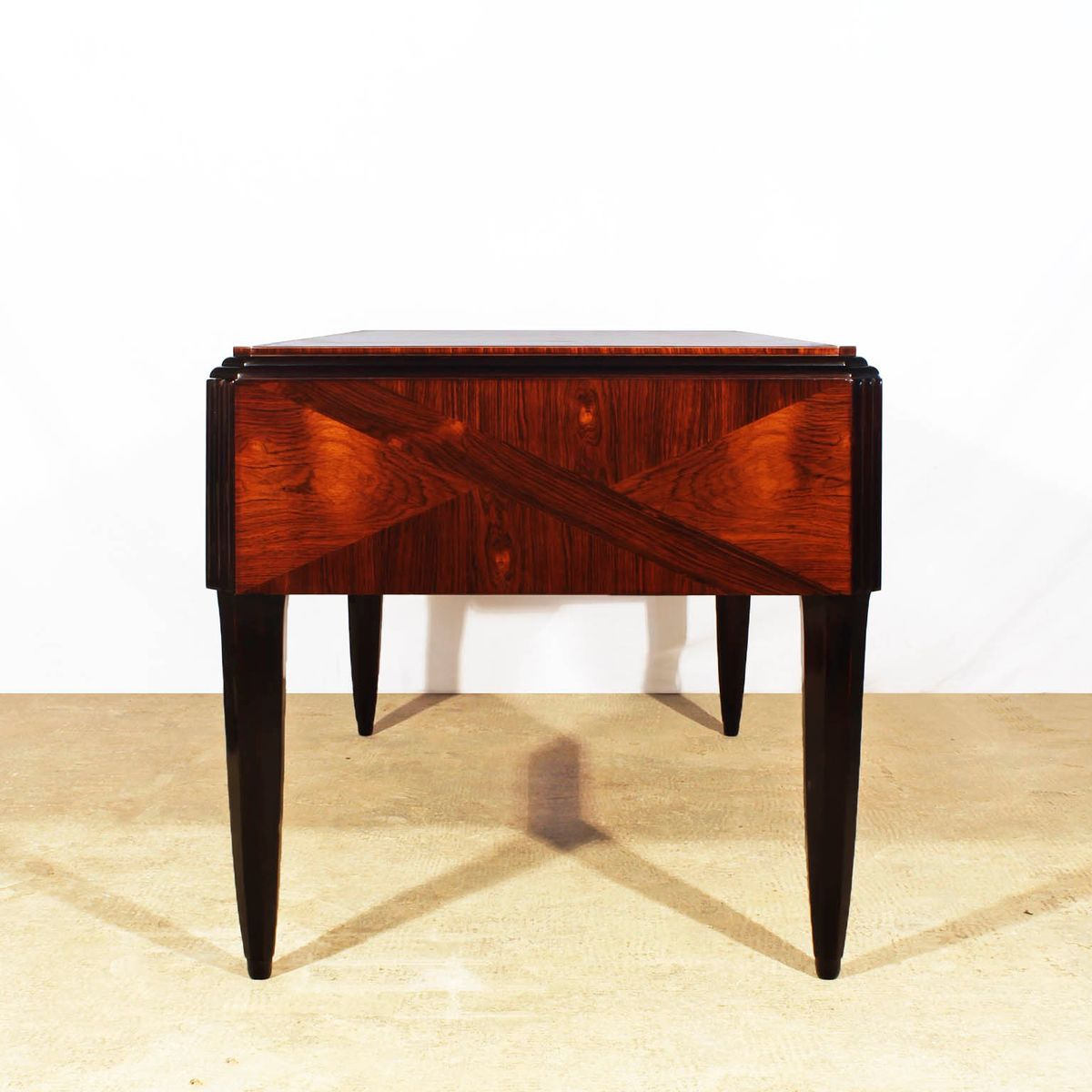 Art Deco French Double Sided Desk 1925 for sale at Pamono