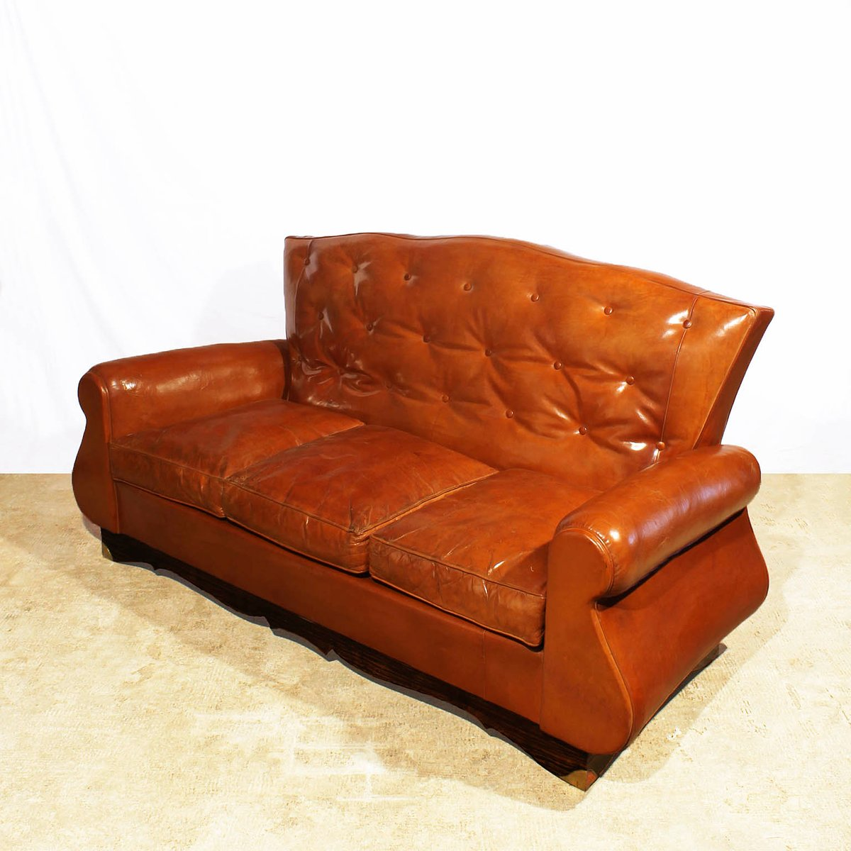 Chesterfield Style Sofa, 1940s for sale at Pamono
