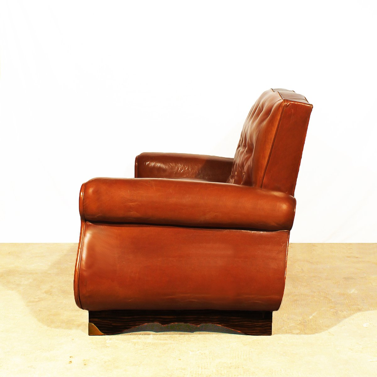 Sofa im chesterfield stil 1940er bei pamono kaufen for Sofa japanischer stil