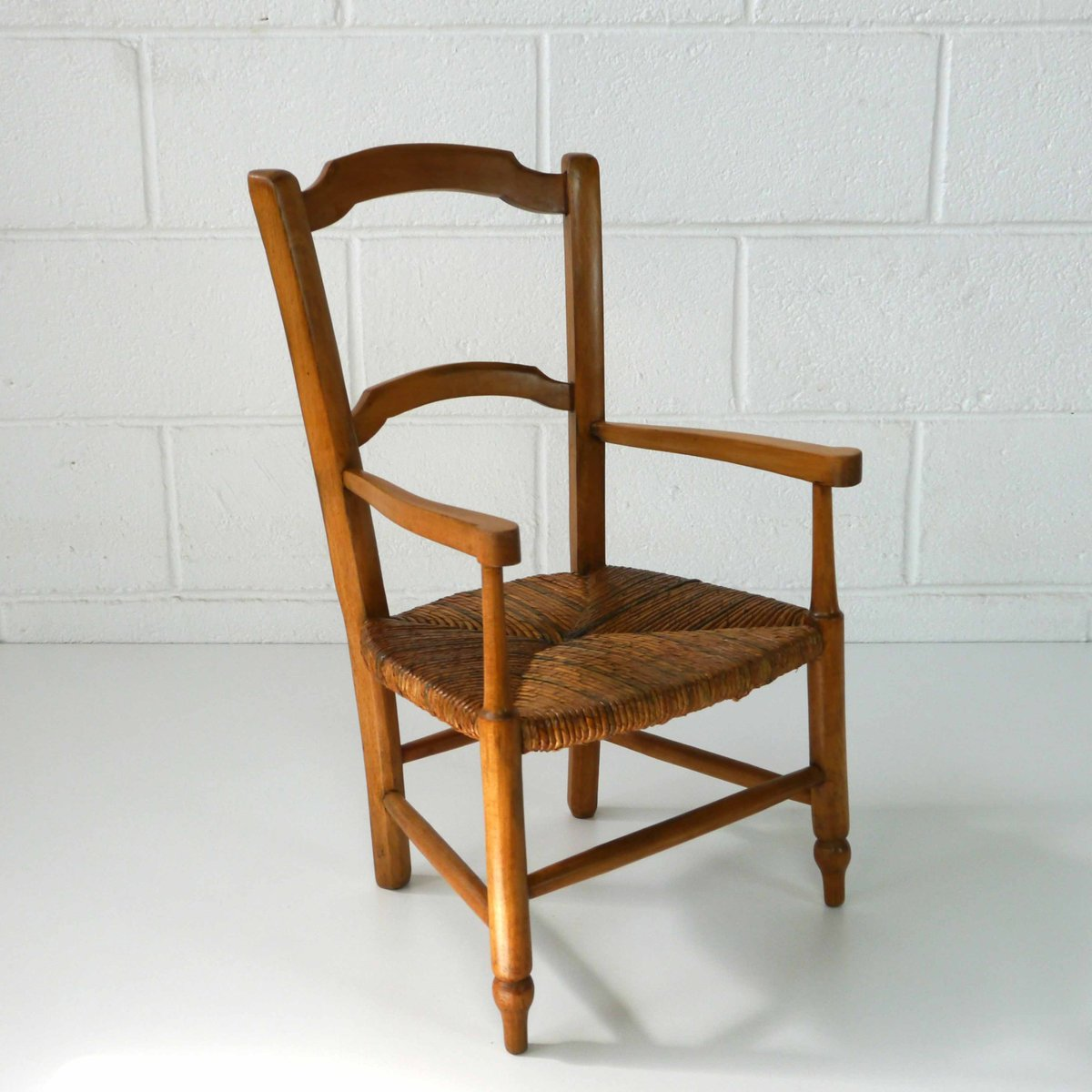 Antique french childrens armchair for sale at pamono for Armchair vintage