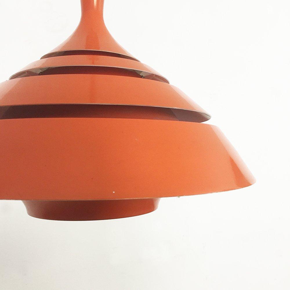 Orange hanging lamp - Modernist Scandinavian Orange Hanging Lamp 1960s 10 1 040 00 Price Per Piece