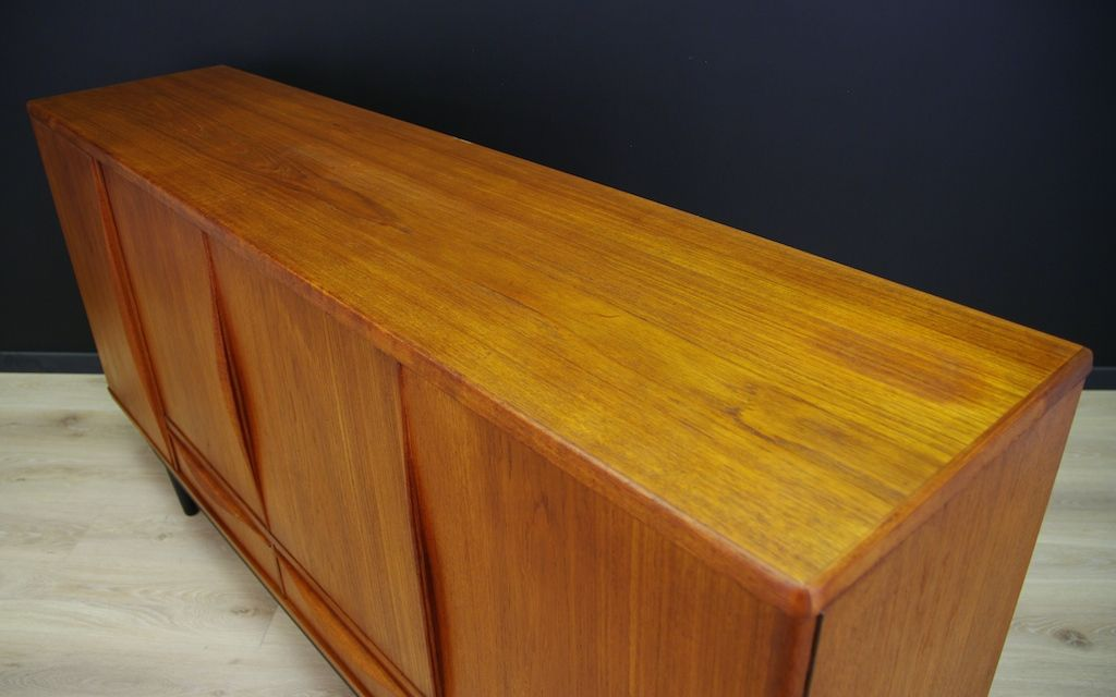danish teak sideboard from lyby m bel 1960s for sale at pamono. Black Bedroom Furniture Sets. Home Design Ideas