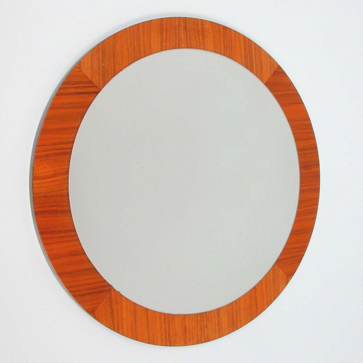 Vintage scandinavian teak wall mirror for sale at pamono vintage scandinavian teak wall mirror amipublicfo Gallery
