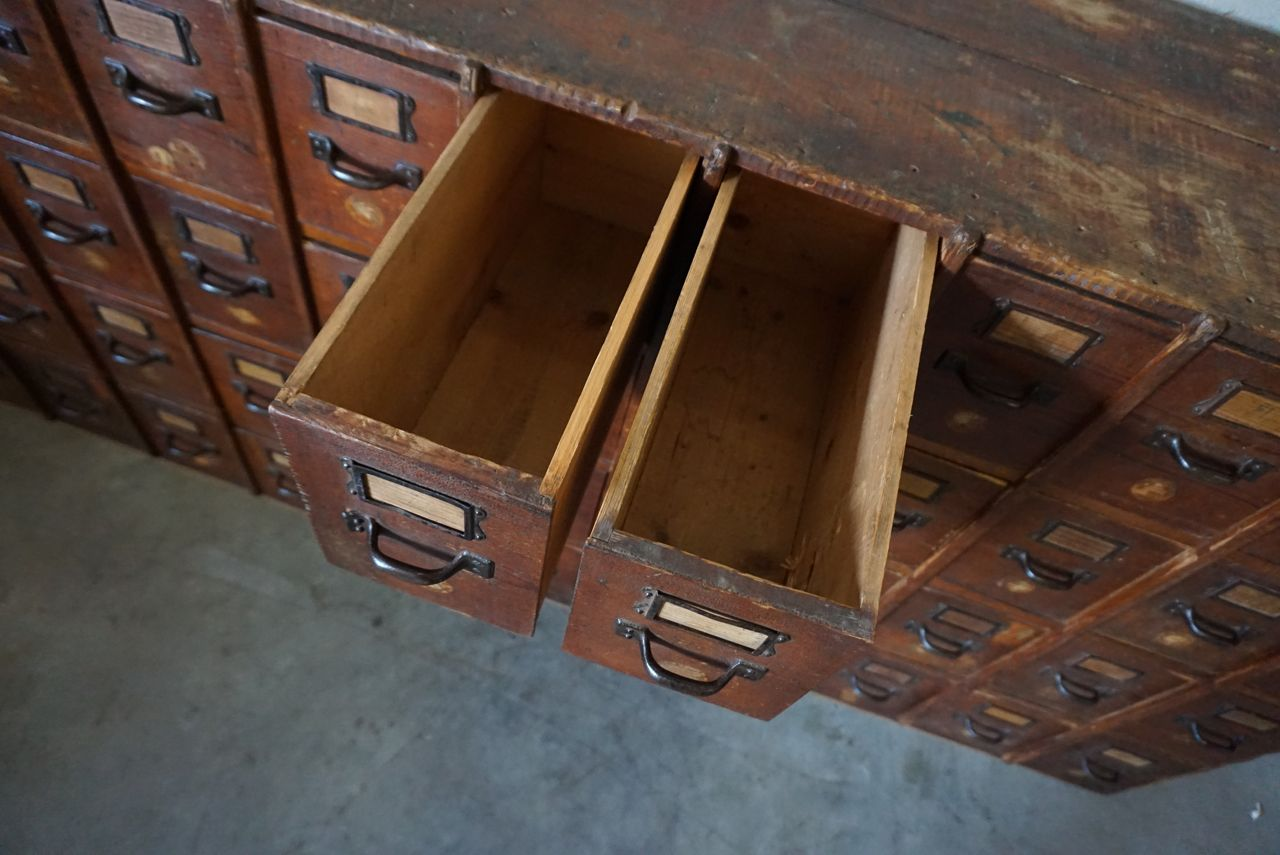 Antique Apothecary Cabinet Antique Pine Apothecary Cabinet For Sale At Pamono