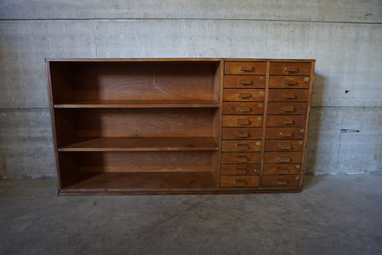 Marvelous photograph of Industrial School Shelving Unit 1950s for sale at Pamono with #65412B color and 1280x855 pixels