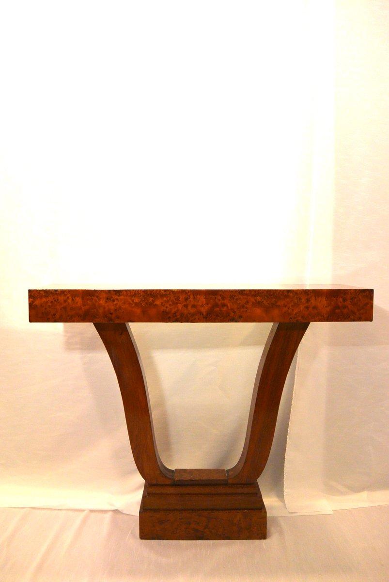 franz sischer art deco ahorn beistelltisch 1925 bei. Black Bedroom Furniture Sets. Home Design Ideas