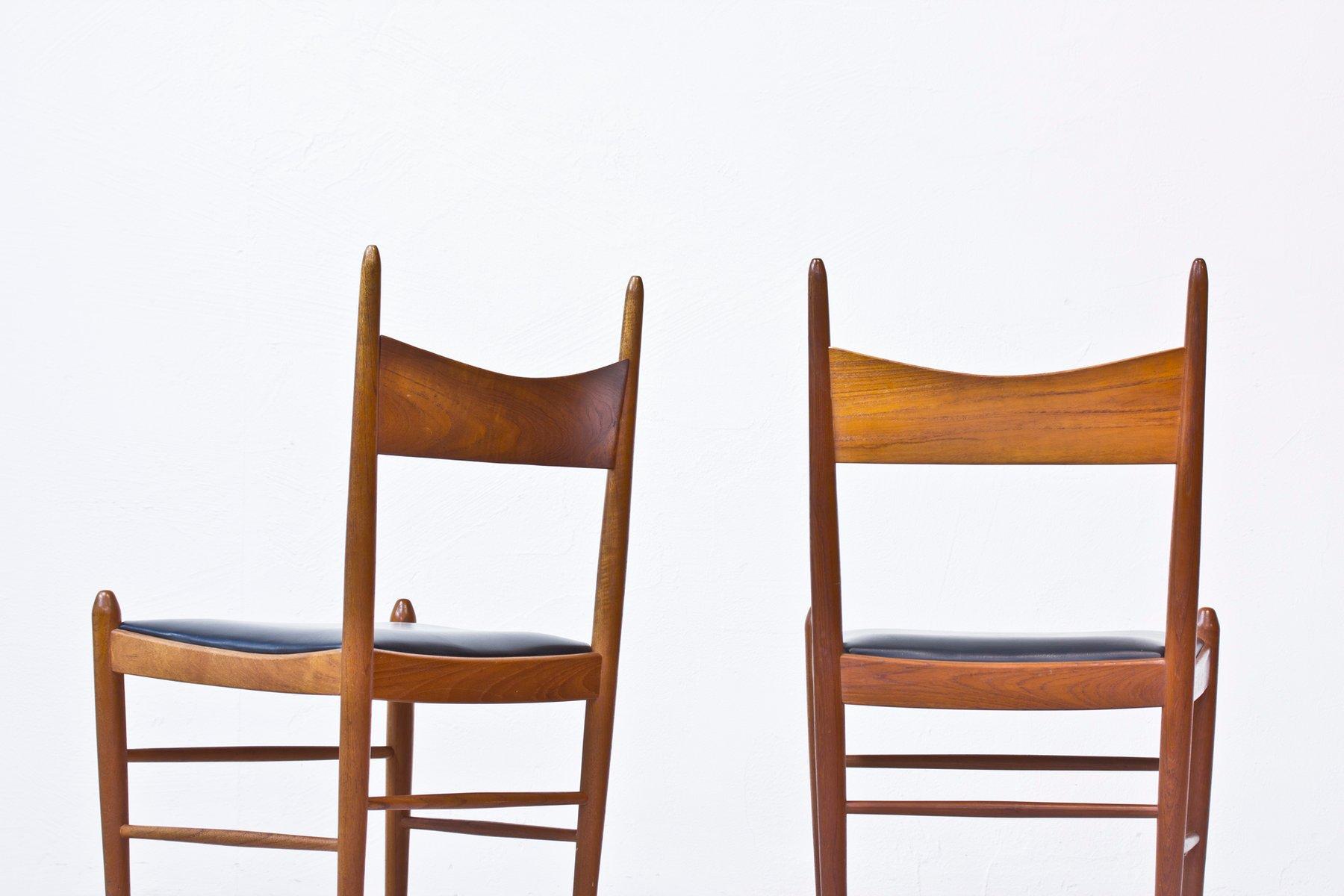 teak esszimmerst hle von illum wikkels f r br derna. Black Bedroom Furniture Sets. Home Design Ideas