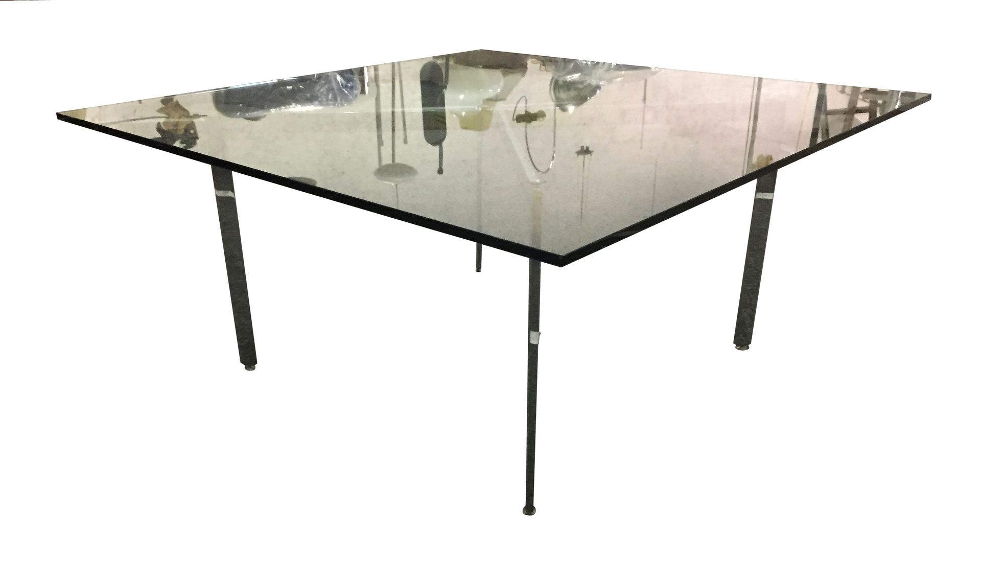 barcelona table by mies van der rohe 1970s for sale at pamono. Black Bedroom Furniture Sets. Home Design Ideas