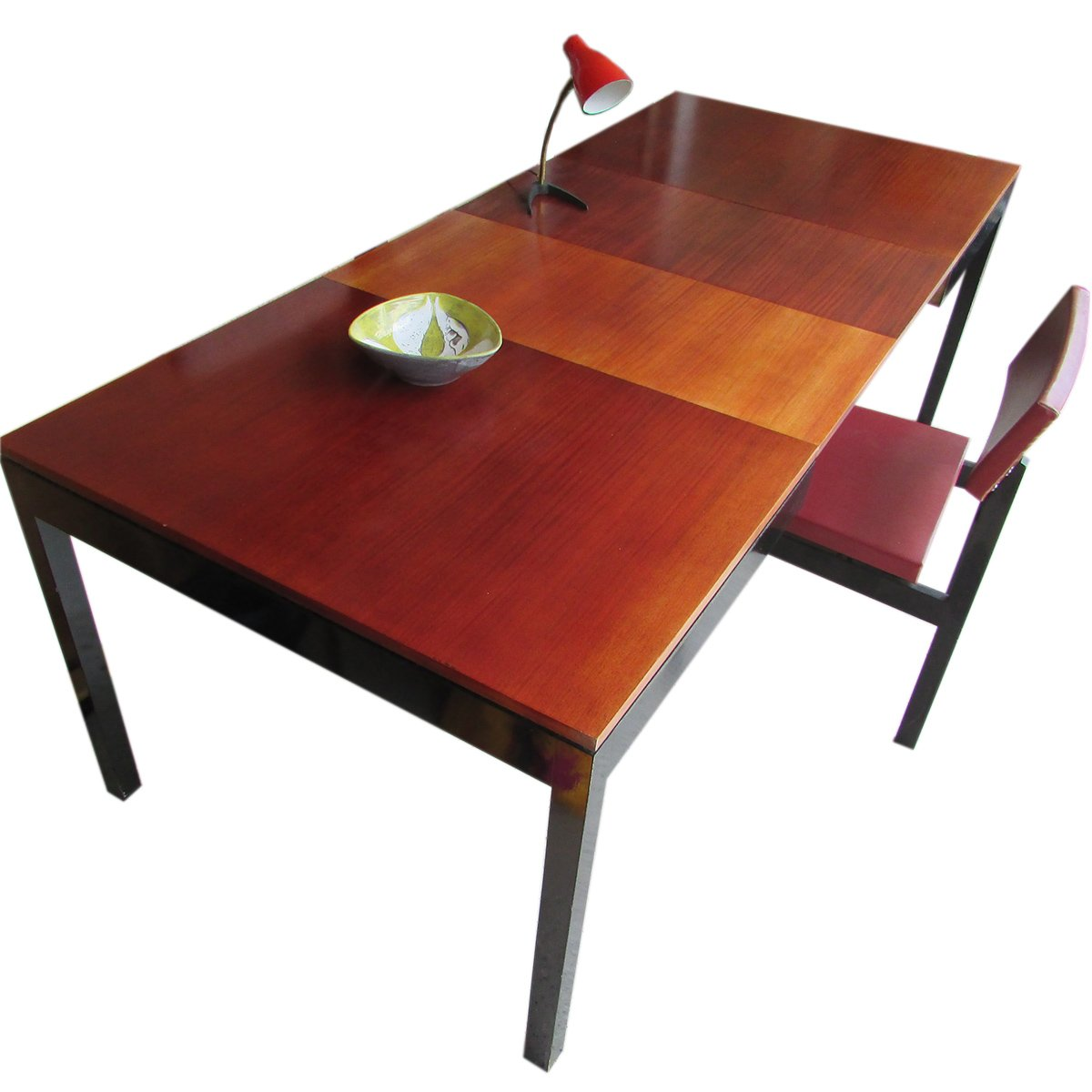 Swiss Extendable Teak Dining Table from BSC 1960s for  : swiss extendable teak dining table from bs c 1960s 6 from www.pamono.com size 1200 x 1200 jpeg 290kB