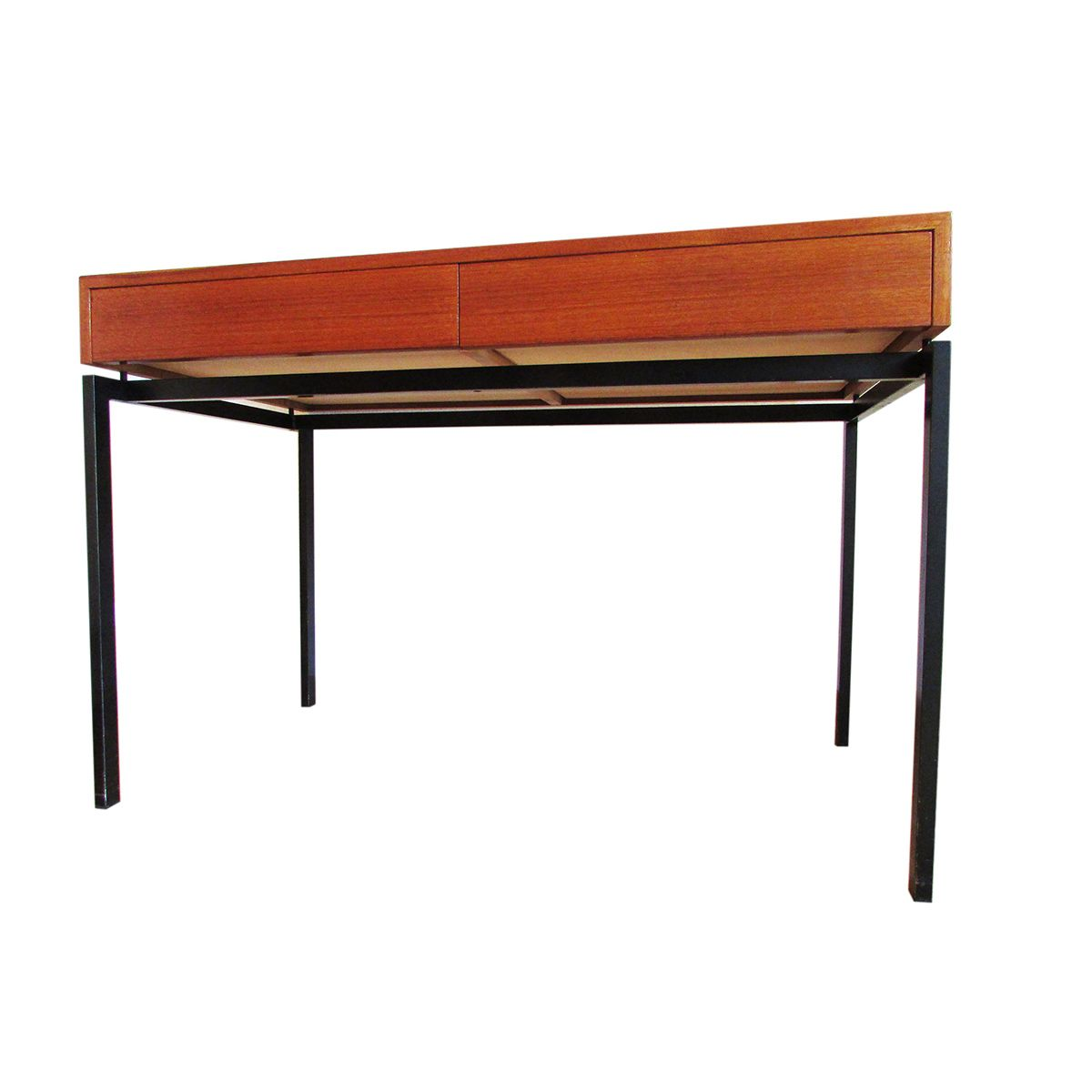 Swiss minimalist teak desk from zingg lamprecht for sale for Minimalist desk
