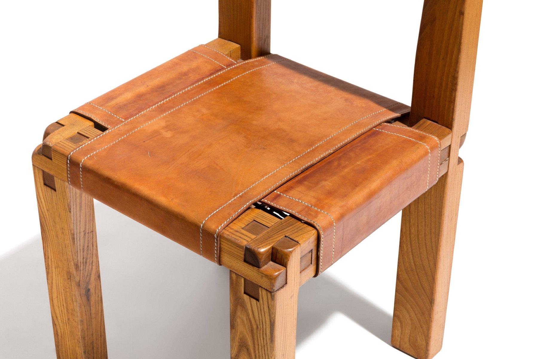franz sischer vintage t27 schreibtisch und s11 stuhl von pierre chapo bei pamono kaufen. Black Bedroom Furniture Sets. Home Design Ideas