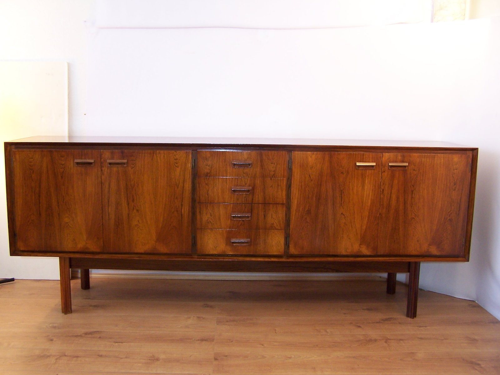 Rio rosewood sideboard from degorre 1967 for sale at pamono for Sideboard 220 cm
