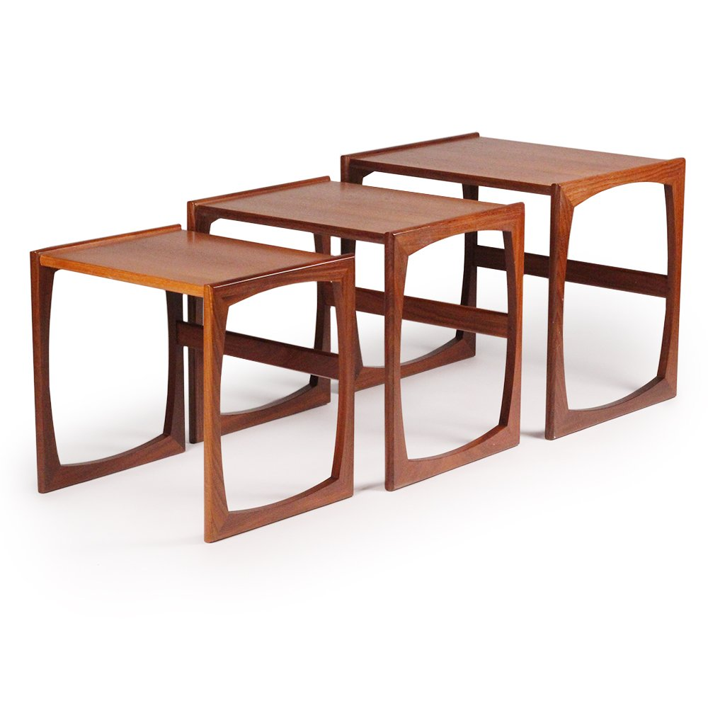 Mid Century British Teak Nest of Tables from G Plan 1960s for