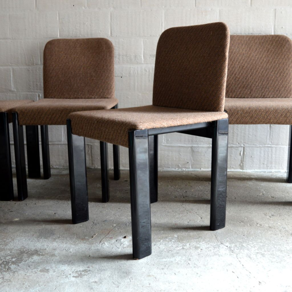Dining Table With Six Chairs By Marco Zanuso For Zanotta 1979 For Sale At Pa