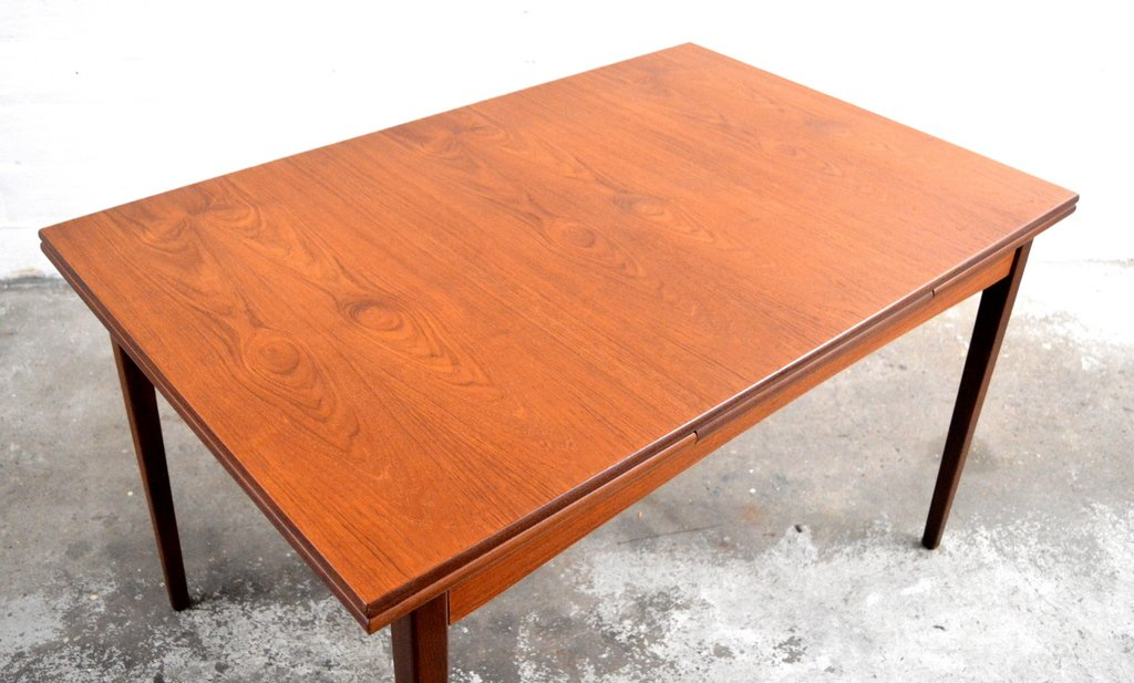Extendable Teak Dining Table 1970 For Sale At Pamono