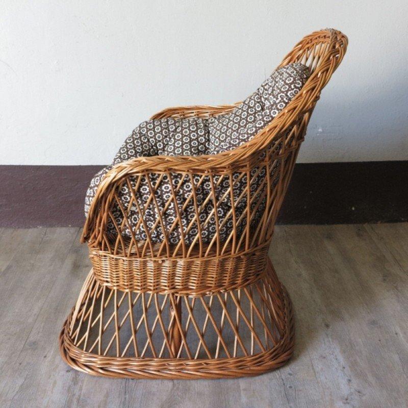 Vintage kinderstuhl aus rattan 1970er bei pamono kaufen - Kinderstuhl vintage ...