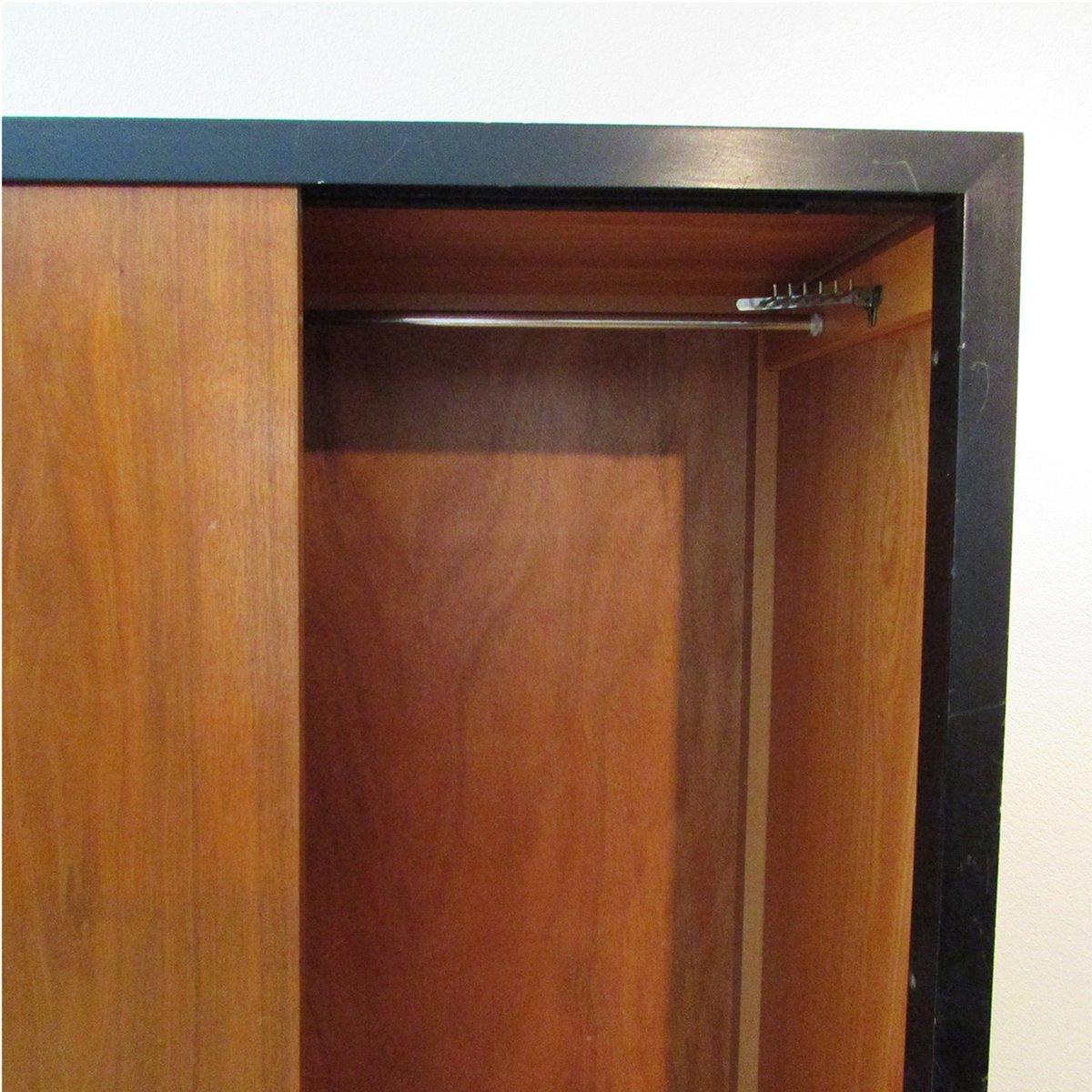 armoire with sliding doors  saudireiki - swiss teak armoire with sliding doors by kurt thut s for