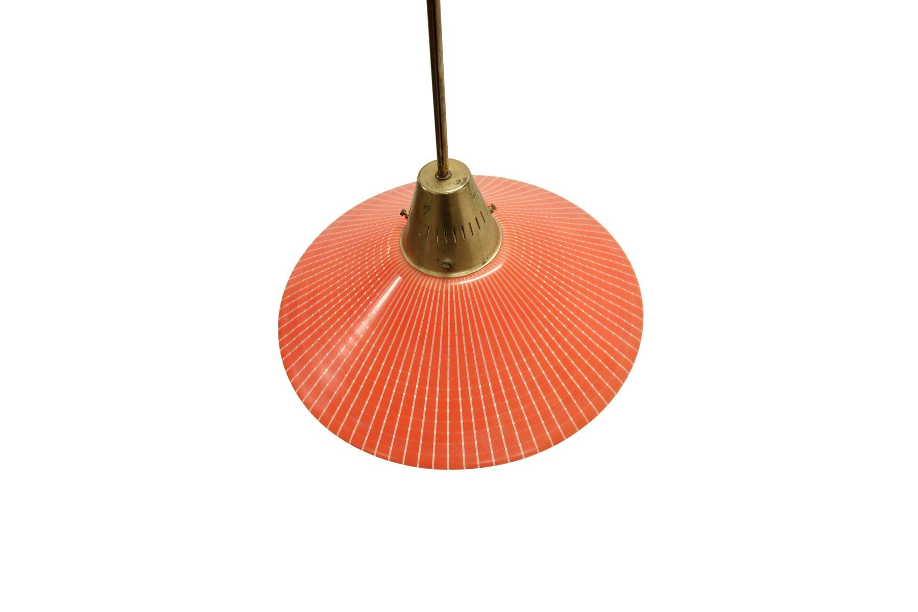 lampe suspension style scandinave de tr co 1960s en vente sur pamono. Black Bedroom Furniture Sets. Home Design Ideas