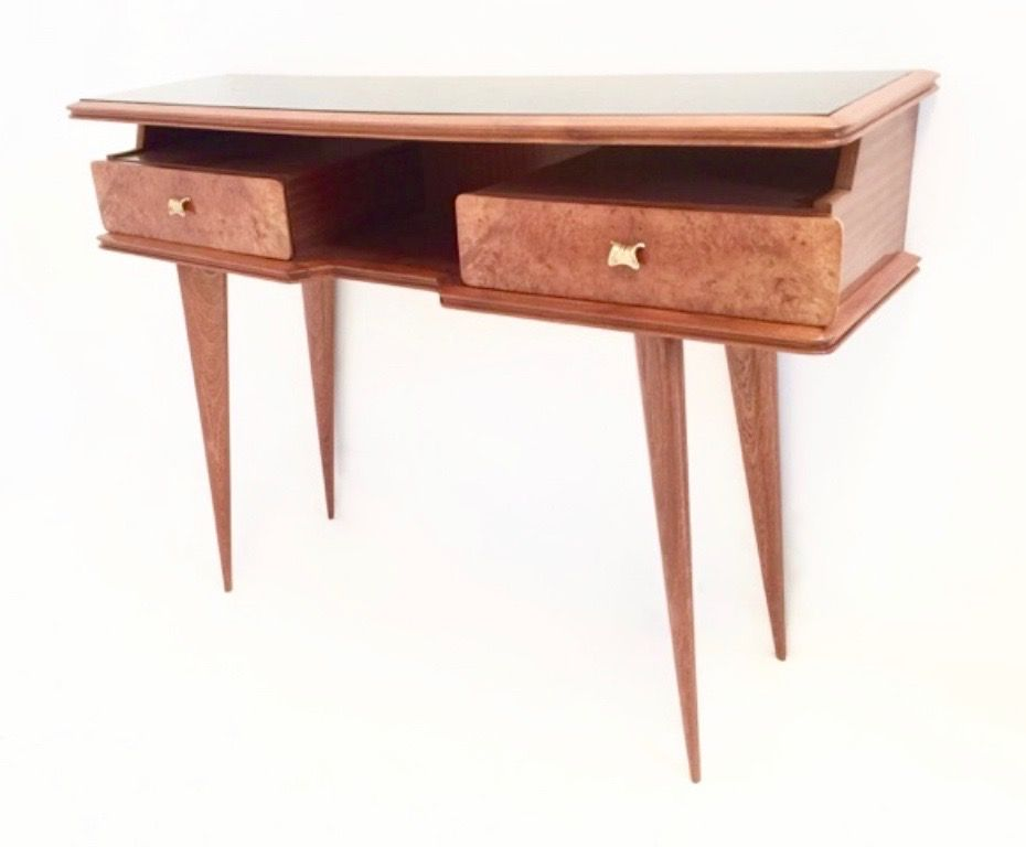 50s retro console table - photo #16