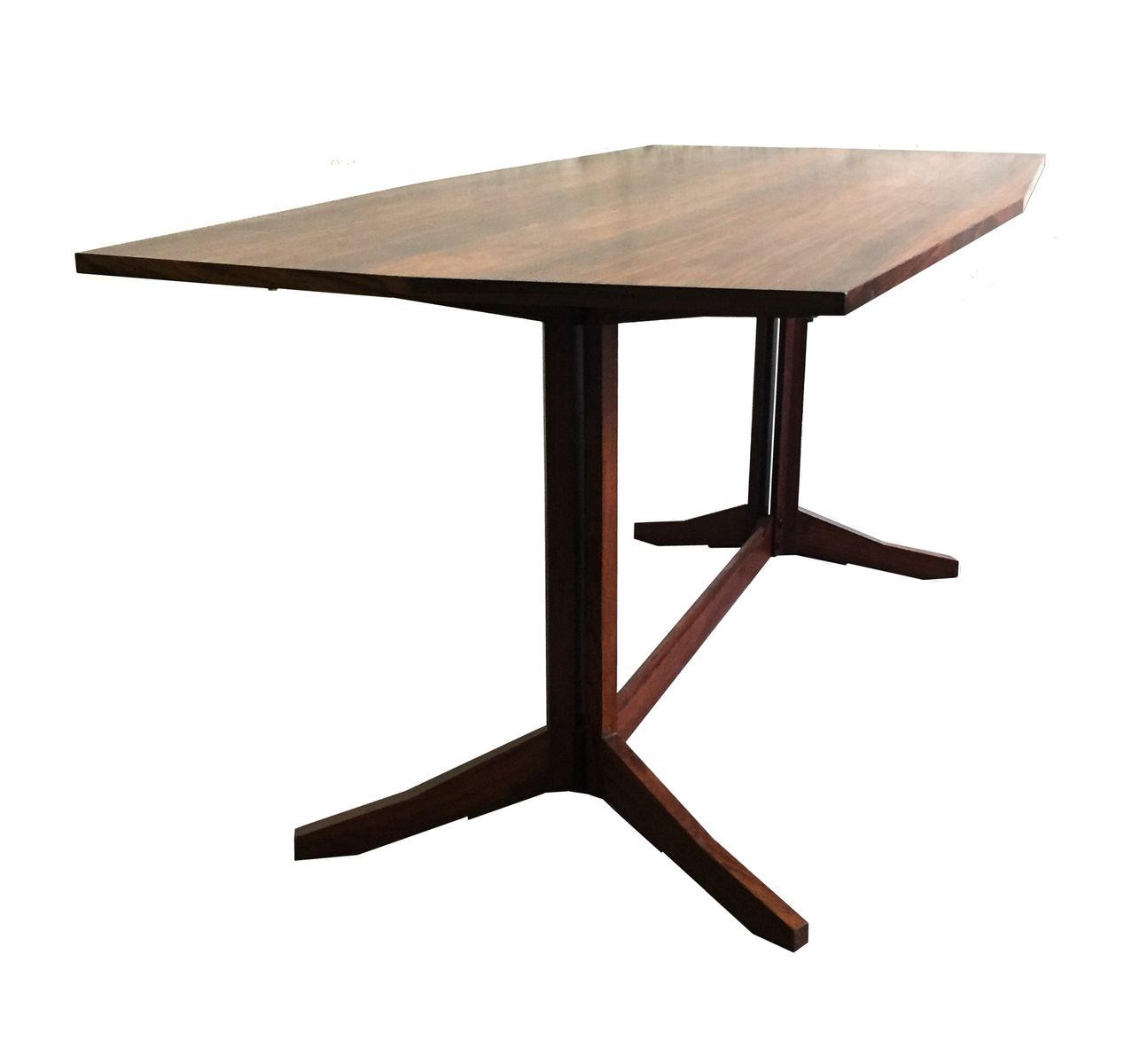 Table de salle manger en bois italie en vente sur pamono for Solde table a manger