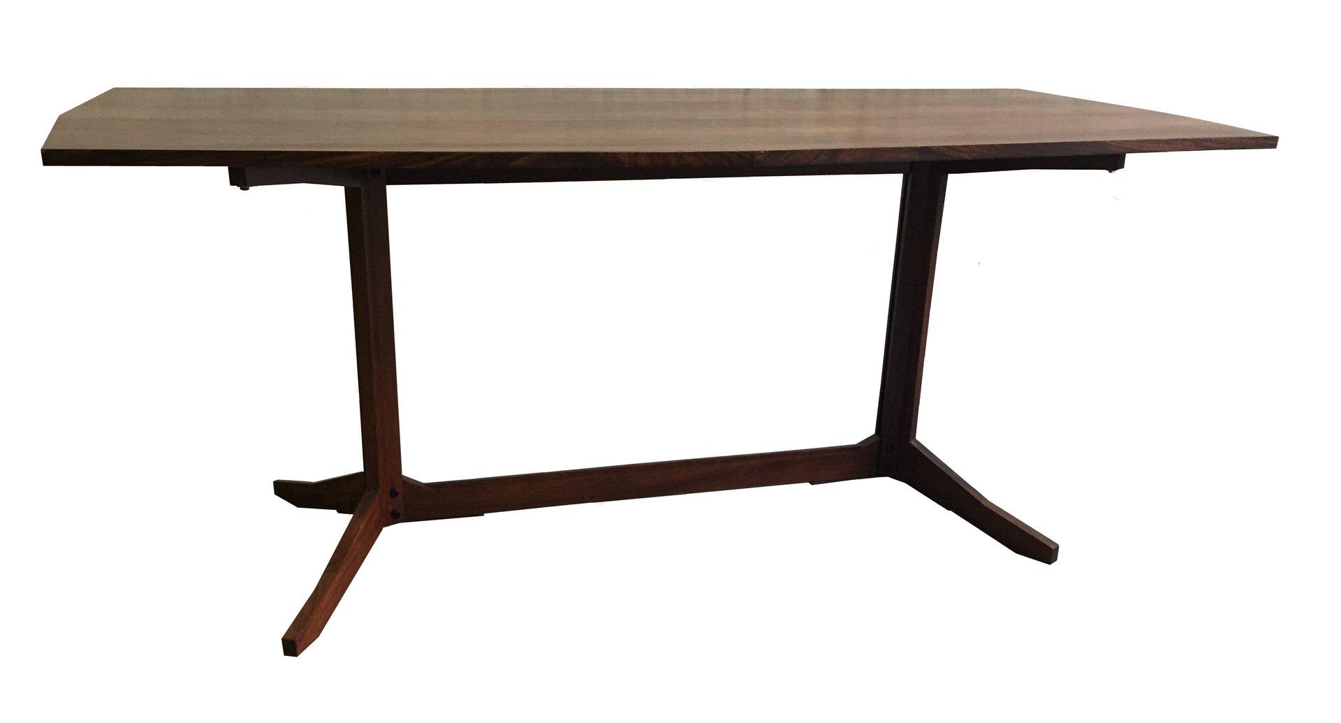 Table de salle manger en bois italie en vente sur pamono for Salle a manger en solde