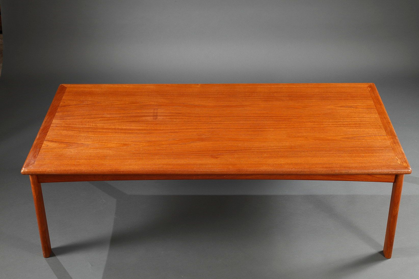 Danish Solid Teak Coffee Table 1960s For Sale At Pamono