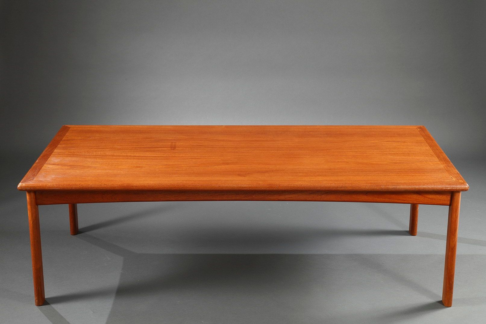 Danish solid teak coffee table 1960s for sale at pamono Solid teak coffee table