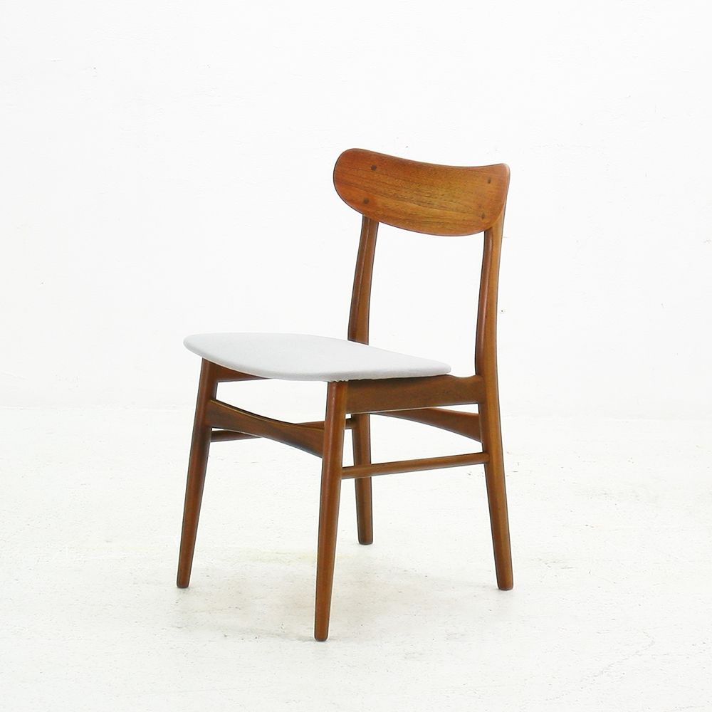 Mid Century Teak Dining Chairs Set Of 4 For Sale At Pamono