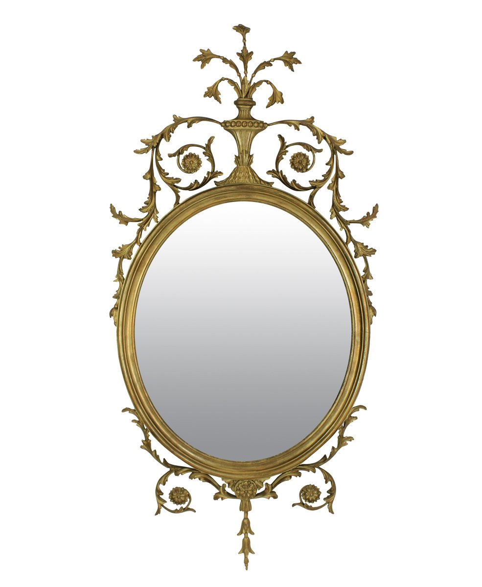 English gilt wood mirror for sale at pamono for What is a gilt mirror
