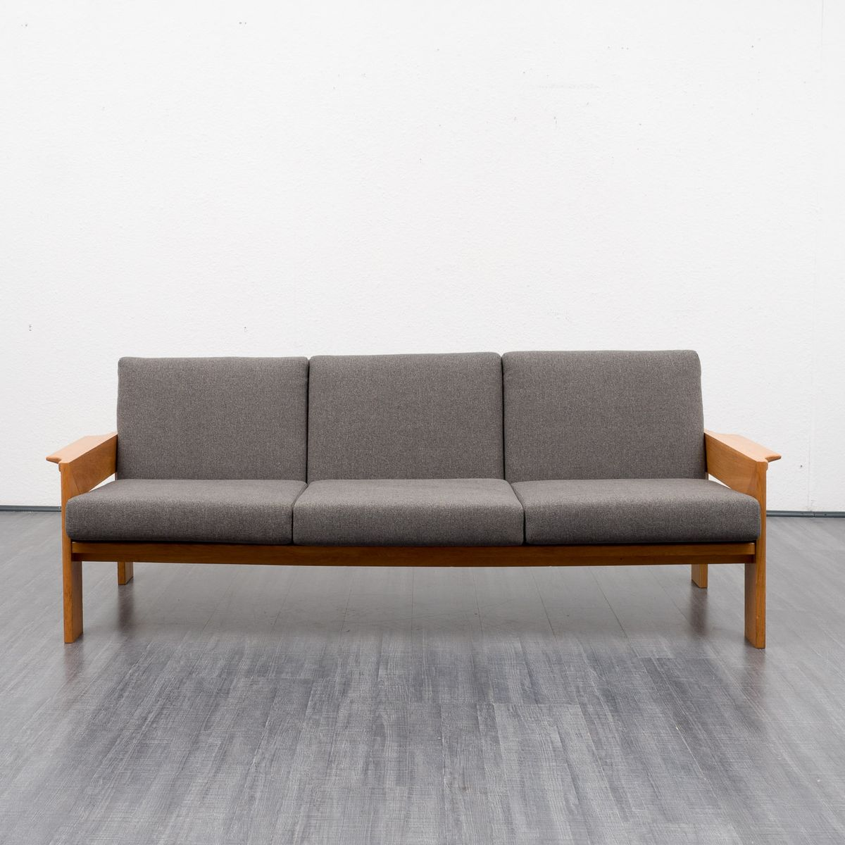 Oak Frame Sofa 1960s For Sale At Pamono