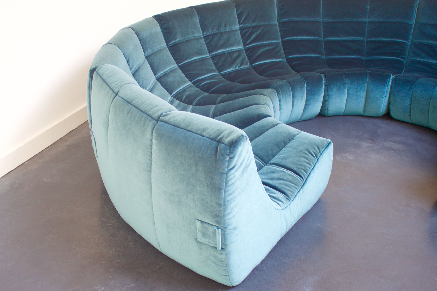 Gilda Circle Sofa by Michel Ducaroy for Roset 1972 for sale at Pamono