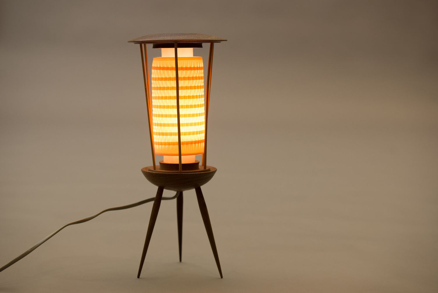 French Tripod Table Lamp For Sale At Pamono