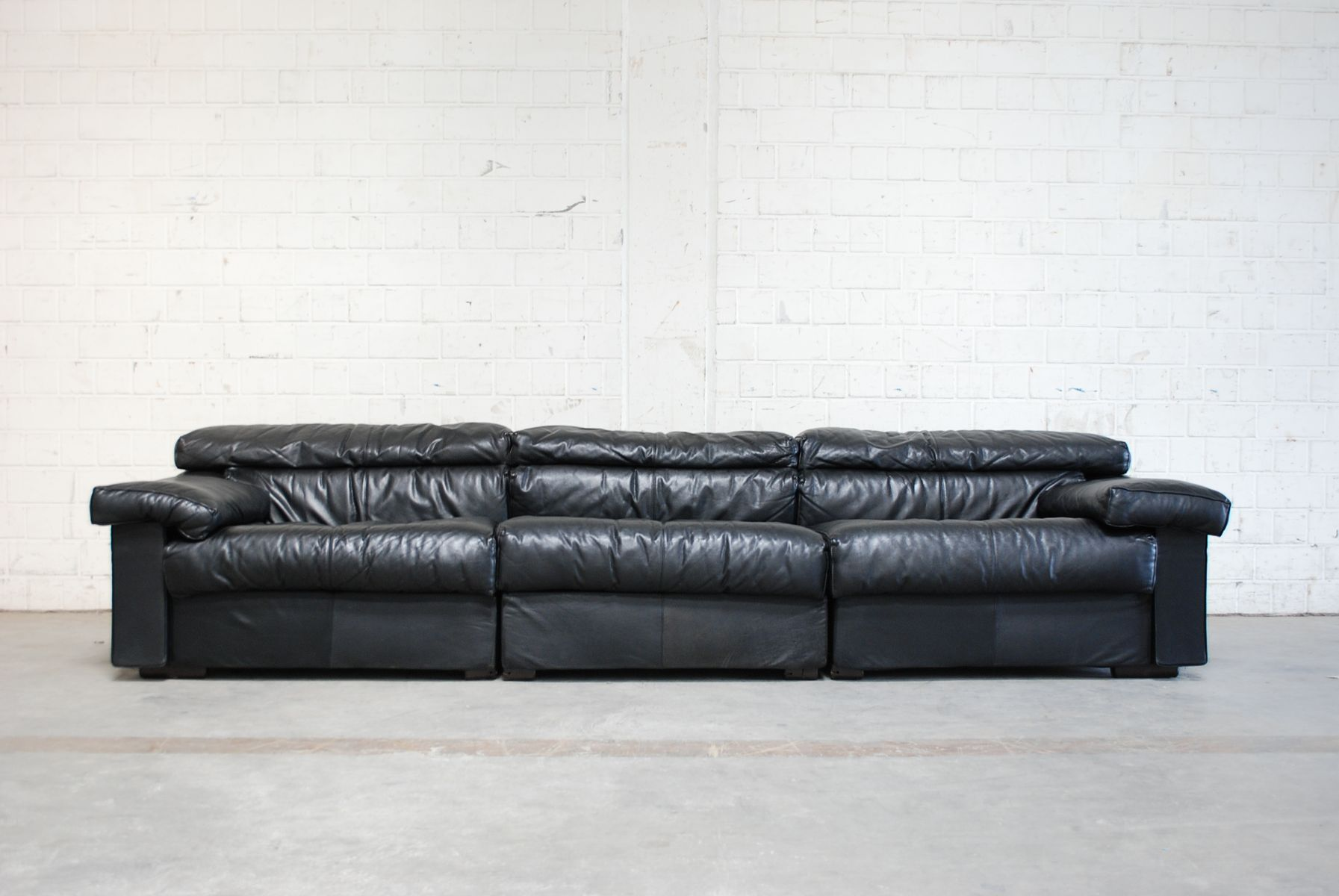 Modular Erasmo Leather Sofa By Afra Tobia Scarpa For B B Italia 1970s For Sale At Pamono