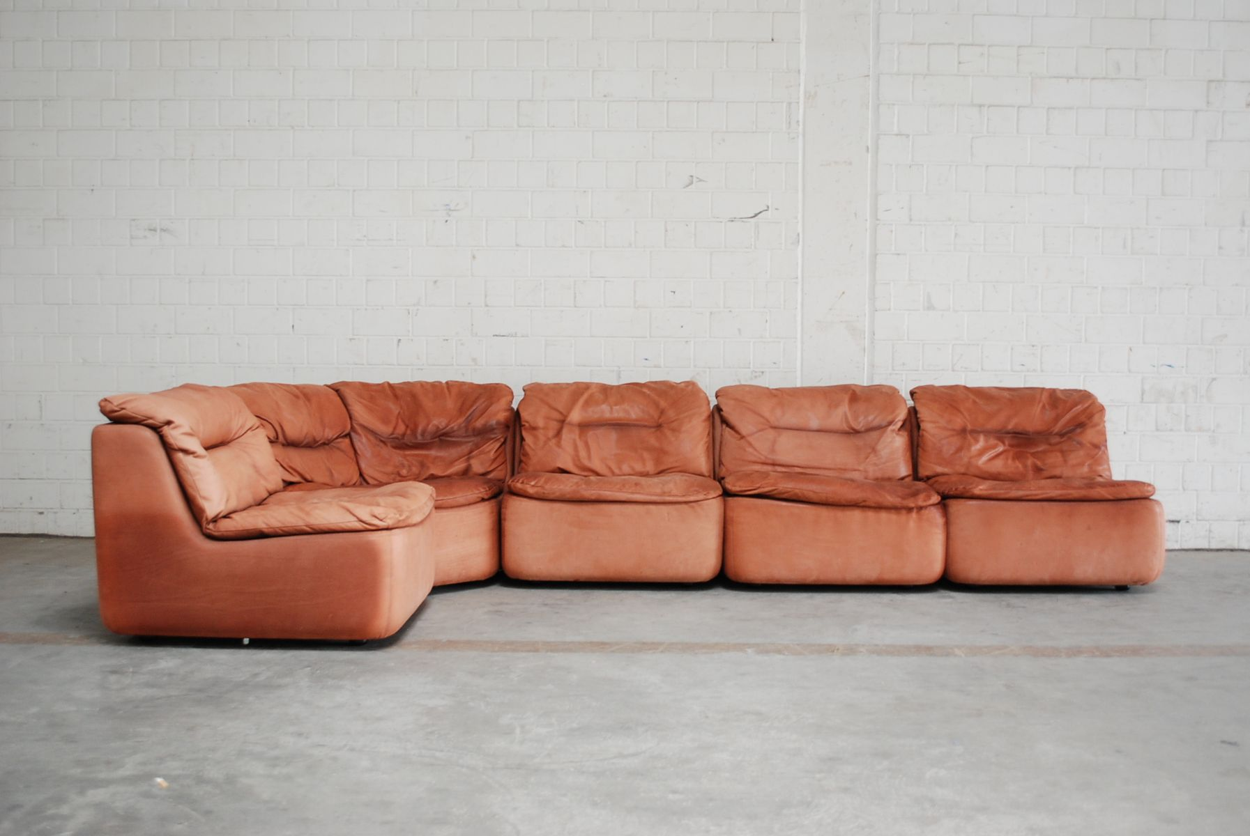 Plus Modular Leather Sofa By Friedrich Hill For Walter Knoll For Sale At Pamono