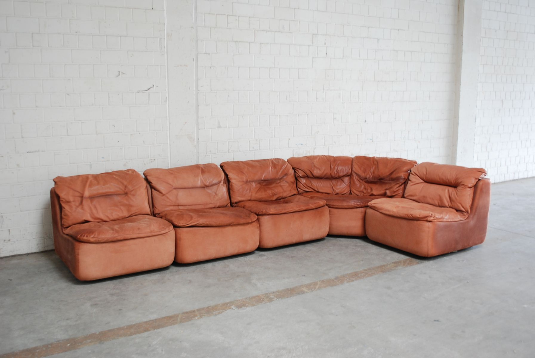 Plus Modular Leather Sofa By Friedrich Hill For Walter