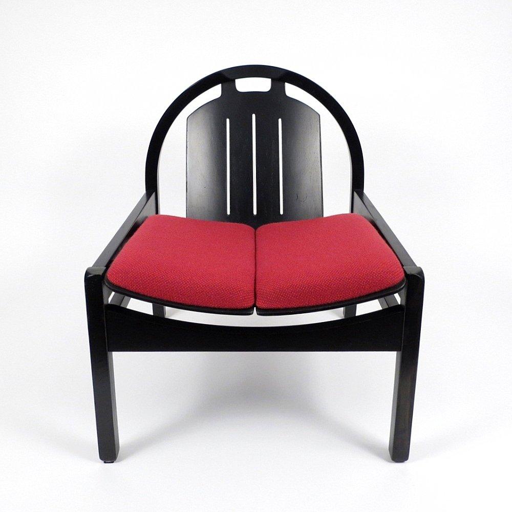 fauteuils vintage de baumann france 1980s set de 2 en vente sur pamono. Black Bedroom Furniture Sets. Home Design Ideas