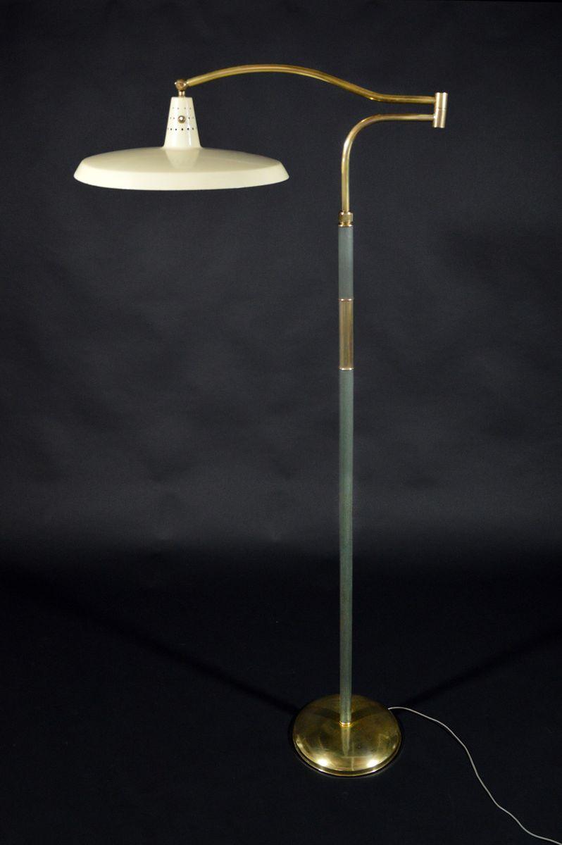 Italian floor lamp by angelo lelii for arredoluce 1950s for Arredo luce