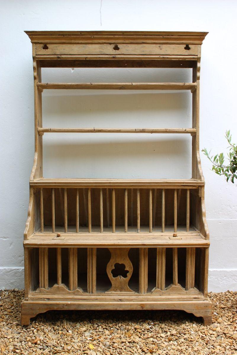 antikes irisches regal aus kiefernholz bei pamono kaufen. Black Bedroom Furniture Sets. Home Design Ideas