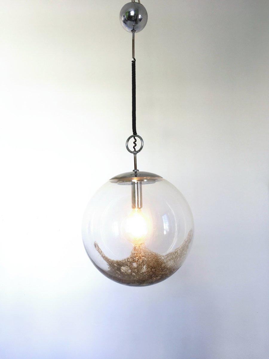 Large vintage pendant light from la murrina 1970s for for Murrina lampadari moderni